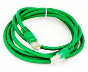 Patchcord molded 5E 2m green