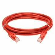 Patchcord molded 5E 3m red