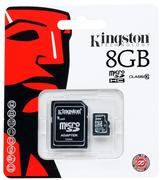 KINGSTON MICRO SD 8GB SDHC Class 10+adapt