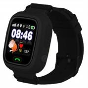 Smart baby watch q80 black( черный)