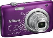 Nikon coolpix a100 purple lineart